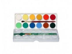 camlin water colour cakes box 12 shades