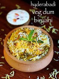 Hyderabadi veg dum   Biriyani