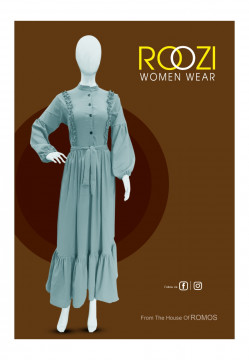 ROOZI new style trendy long top